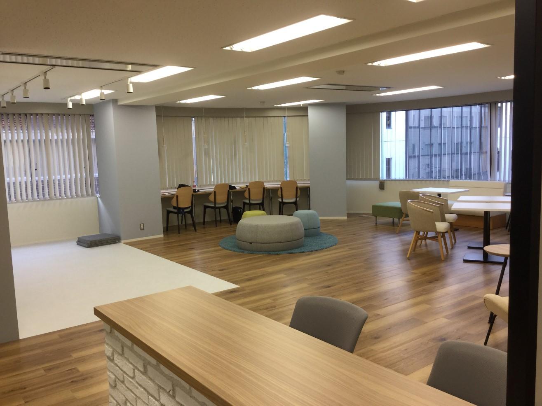 リクルートセンター開設に伴う内装・オフィス家具の導入